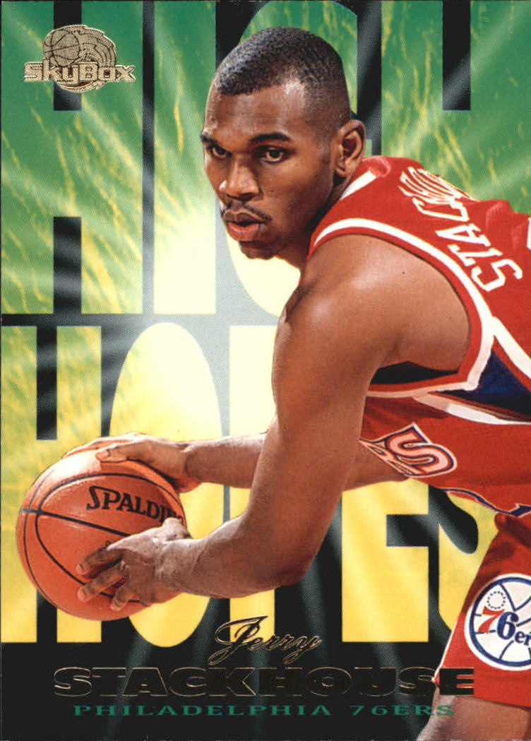 1995-96 SkyBox Premium High Hopes #HH12 Jerry Stackhouse