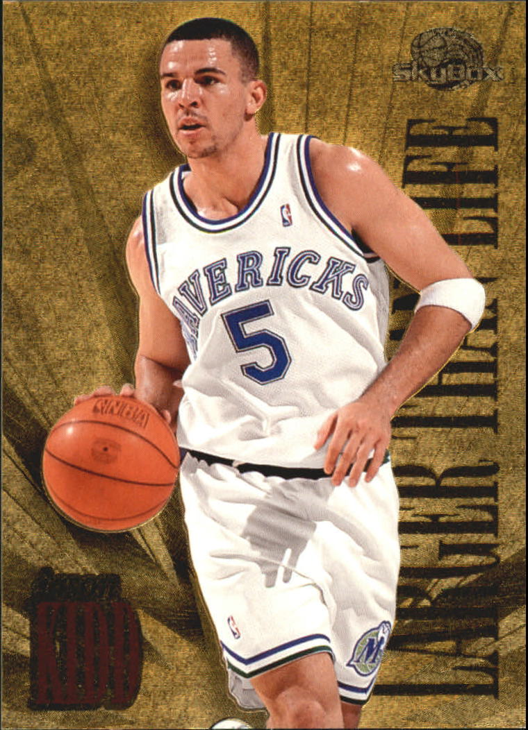 1995-96 SkyBox Premium Larger Than Life #L2 Jason Kidd