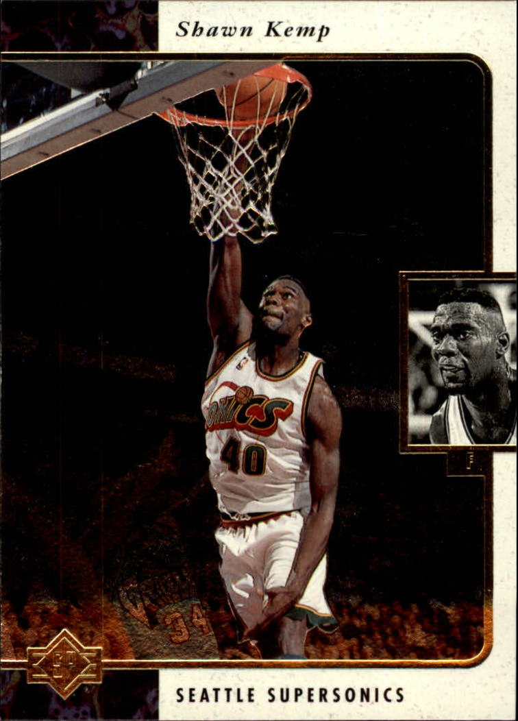 1995-96 SP #124 Shawn Kemp