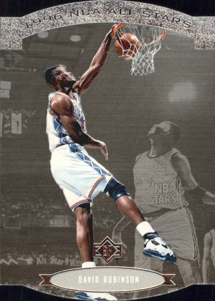 1995-96 SP All-Stars #AS23 David Robinson