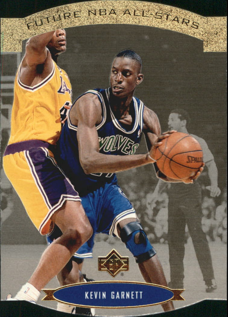 1995-96 SP All-Stars Gold #AS28 Kevin Garnett
