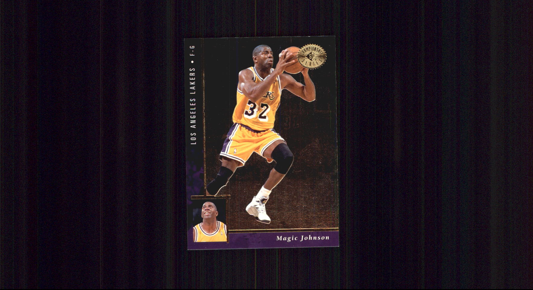 1995-96 SP Championship #51 Magic Johnson