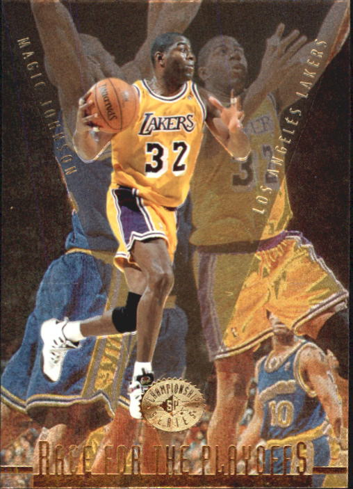 1995-96 SP Championship #130 Magic Johnson RP
