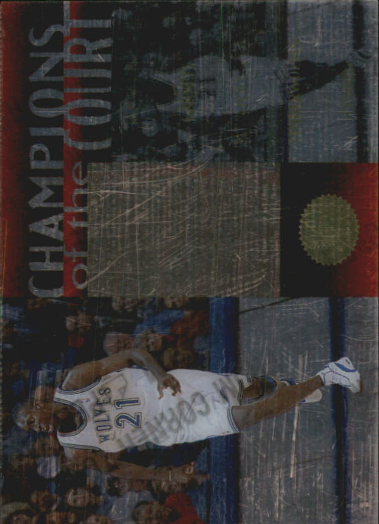 1995-96 SP Championship Champions of the Court #C16 Kevin Garnett