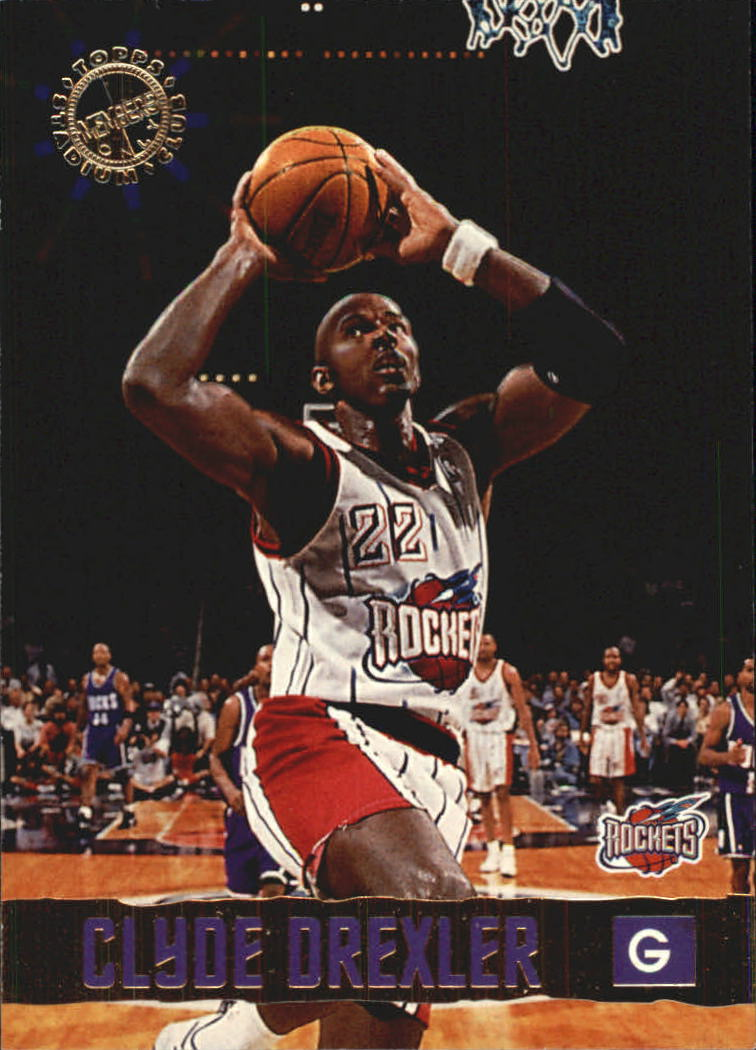 1995-96 Stadium Club Members Only 50 #13 Clyde Drexler