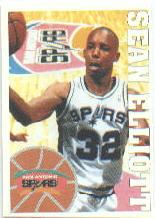 1995-96 Panini Stickers #182 Sean Elliott