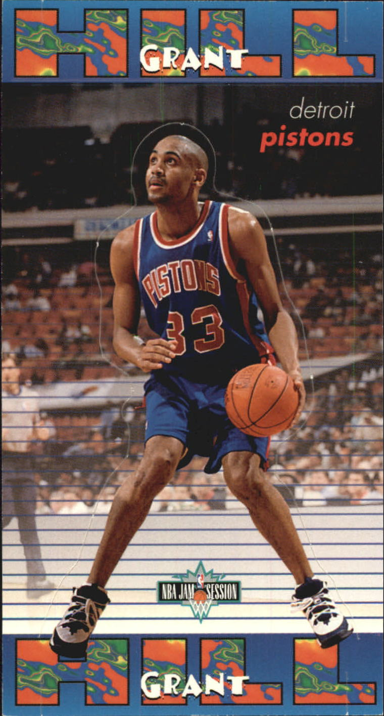 1995-96 Jam Session Pop-Ups #11 Grant Hill