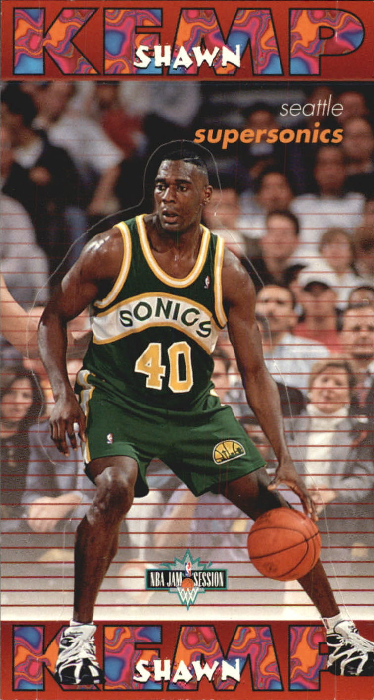 1995-96 Jam Session Pop-Ups #13 Shawn Kemp