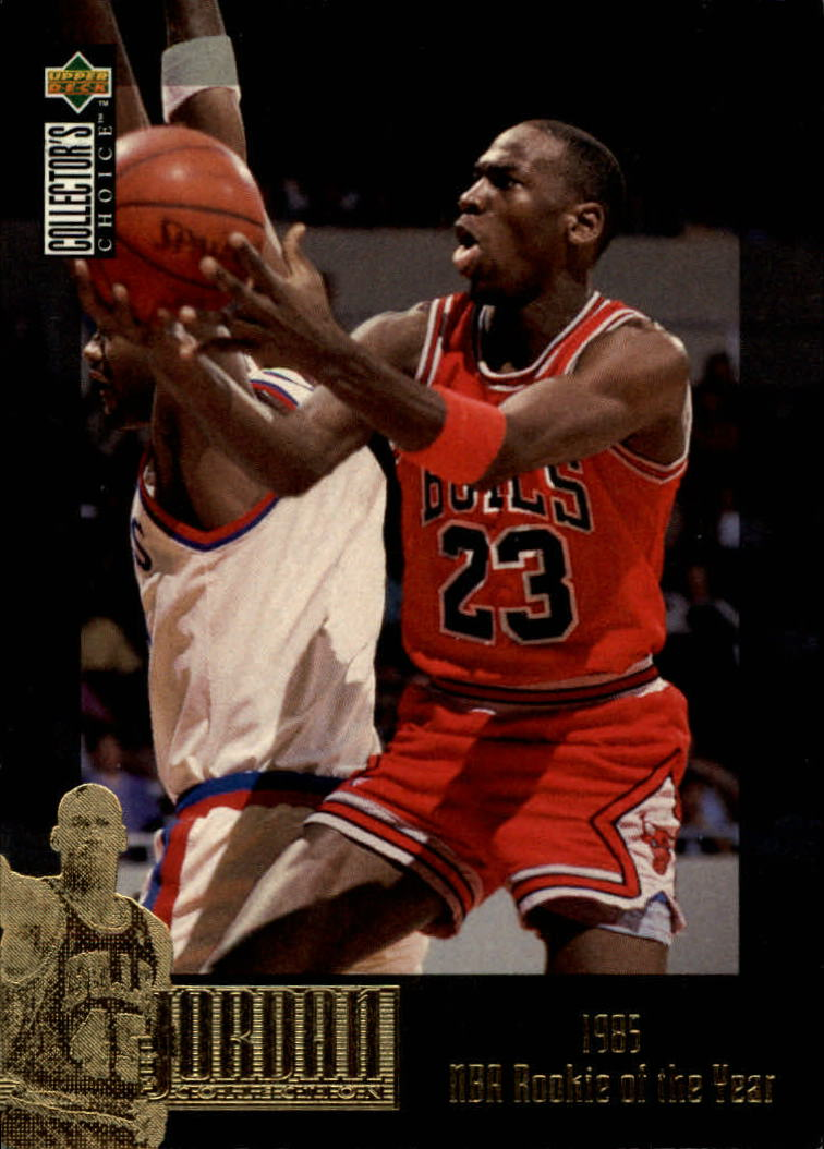 1995-96 Collector's Choice Jordan Collection #JC1 Michael Jordan/1985 NBA ROY