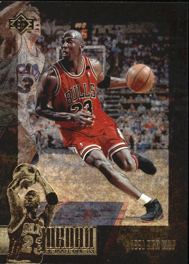 1995-96 SP Jordan Collection #JC18 Michael Jordan