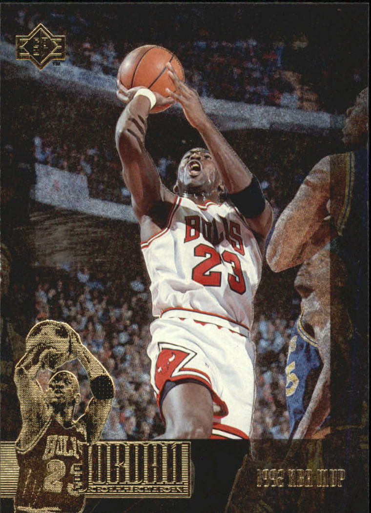 1995-96 SP Jordan Collection #JC19 Michael Jordan