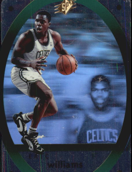 1996 SPx #4 Eric Williams