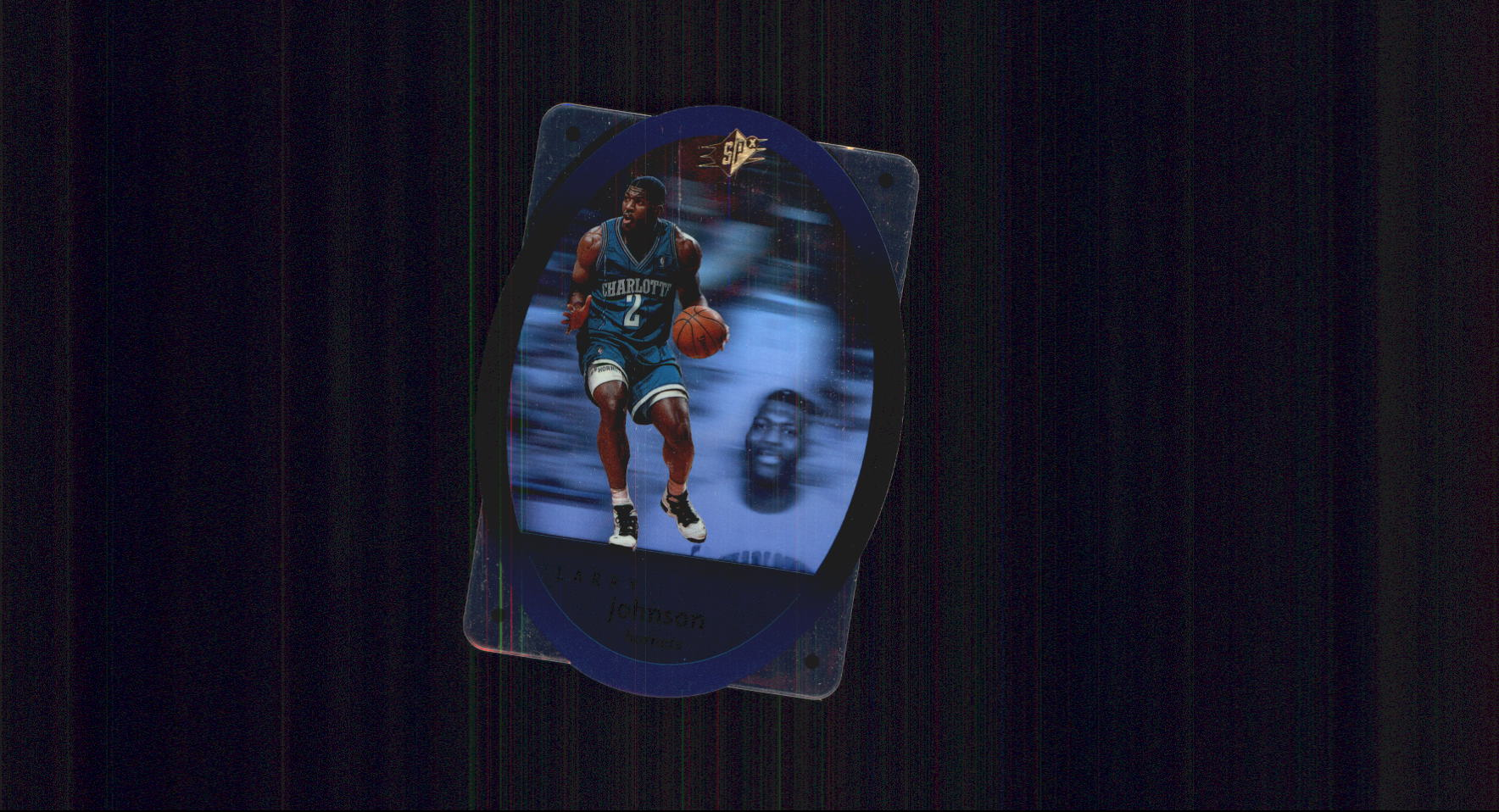 1996 SPx #5 Larry Johnson