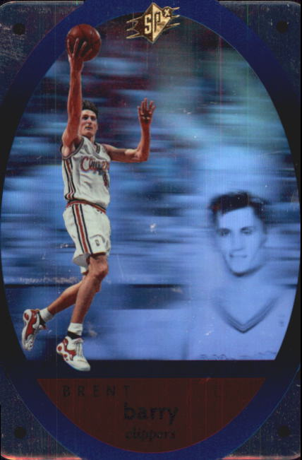 1996 SPx #22 Brent Barry