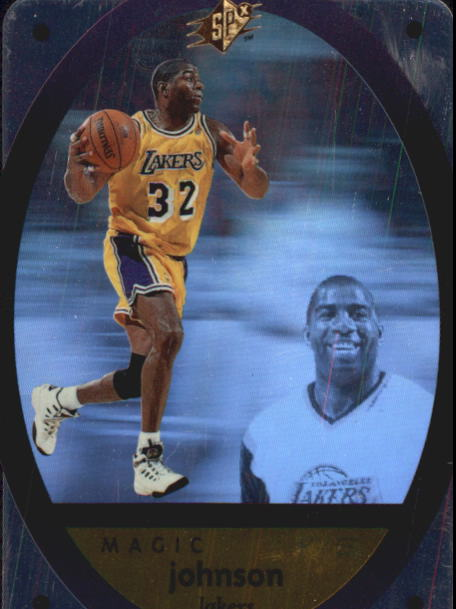1996 SPx #24 Magic Johnson