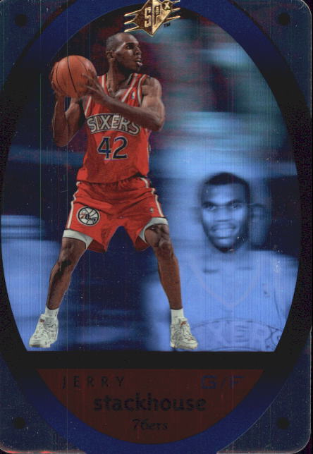 1996 SPx #36 Jerry Stackhouse