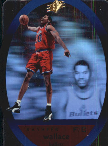1996 SPx #50 Rasheed Wallace