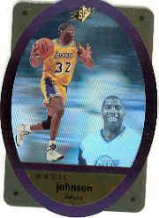 1996 SPx Gold #24 Magic Johnson