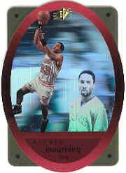 1996 SPx Gold #27 Alonzo Mourning
