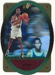 1996 SPx Gold #44 Shawn Kemp