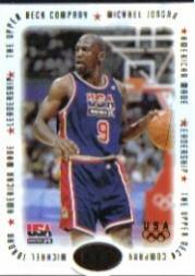 1996 Upper Deck USA Michael Jordan American Made #M4 Michael Jordan/Leadership