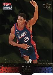 1996 Upper Deck USA SP Career Statistics Gold #S7 Scottie Pippen