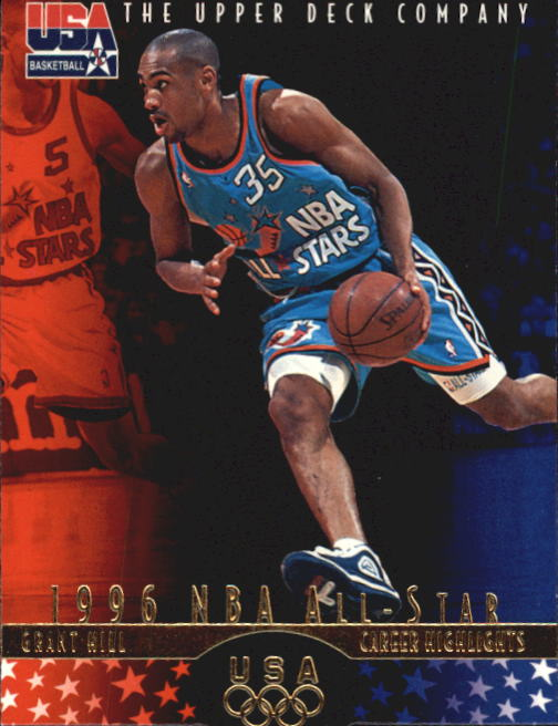 1996 Upper Deck USA #7 Grant Hill