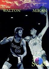 1996 Topps Stars Imagine #I17 Bill Walton/George Mikan