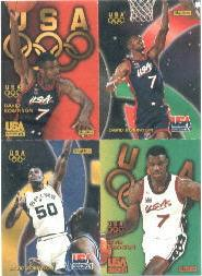 1996 SkyBox USA Quads #Q8 David Robinson