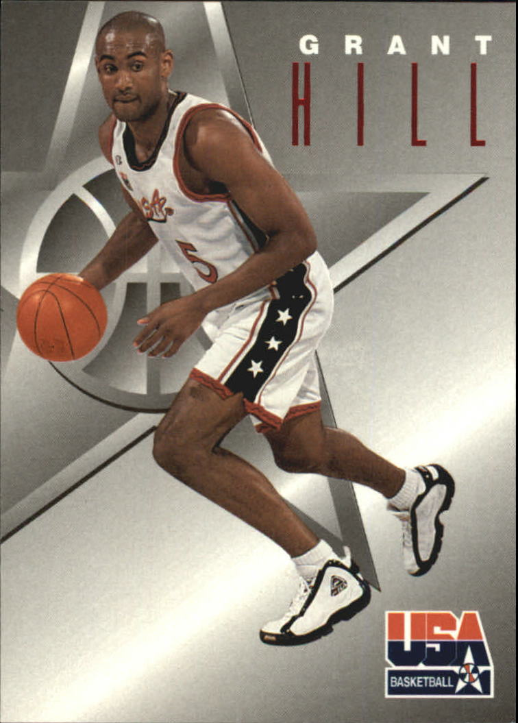 1996 SkyBox USA Texaco #3 Grant Hill