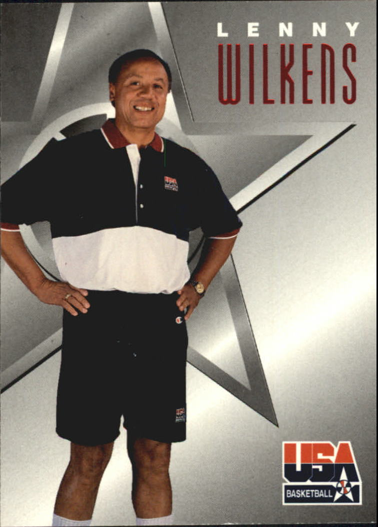 1996 SkyBox USA Texaco #13 Lenny Wilkens CO