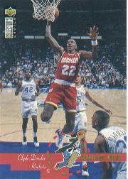1995-96 Collector's Choice International French I #199 Clyde Drexler PD