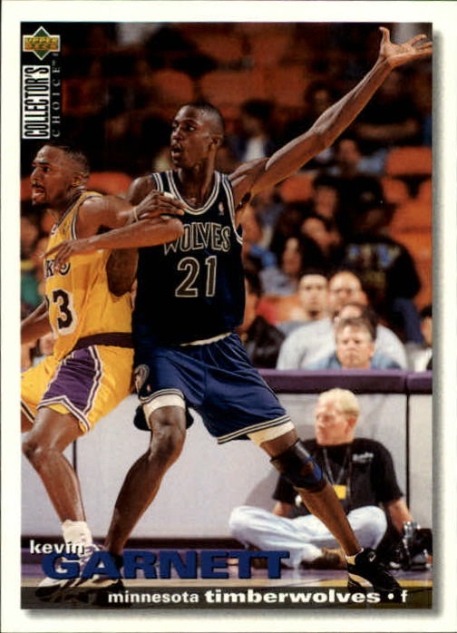 1995-96 Collector's Choice International French II #59 Kevin Garnett