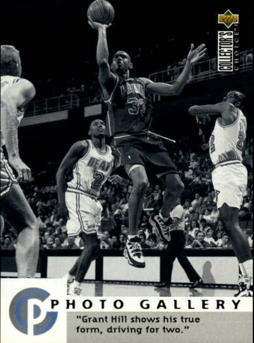 1995-96 Collector's Choice International French II #188 Grant Hill PG