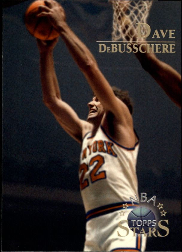 1996 Topps Stars #13 Dave DeBusschere