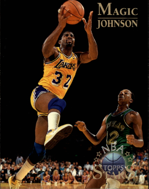 1996 Topps Stars #22 Magic Johnson