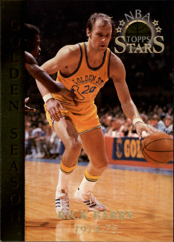 1996 Topps Stars #55 Rick Barry GS