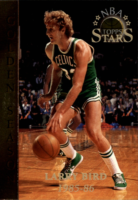 1996 Topps Stars #58 Larry Bird GS
