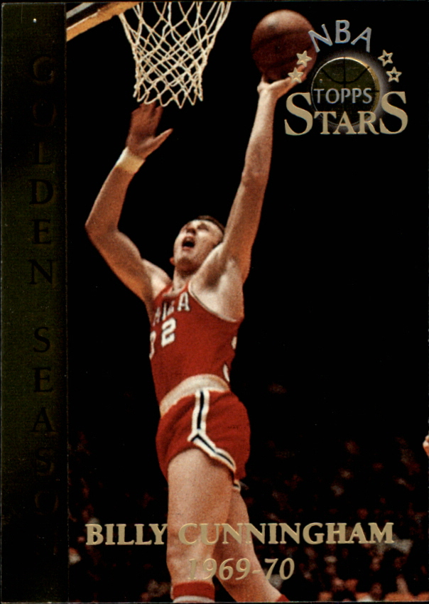 1996 Topps Stars #62 Billy Cunningham GS