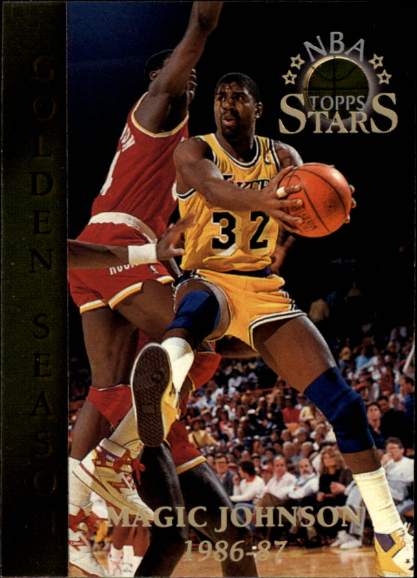 1996 Topps Stars #72 Magic Johnson GS