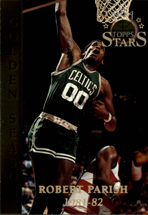 1996 Topps Stars #84 Robert Parish GS