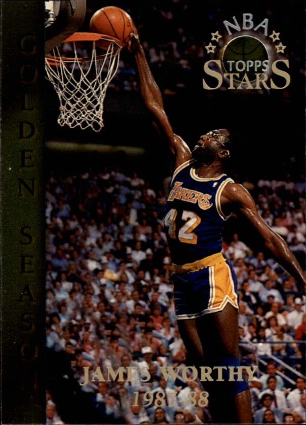 1996 Topps Stars #100 James Worthy GS