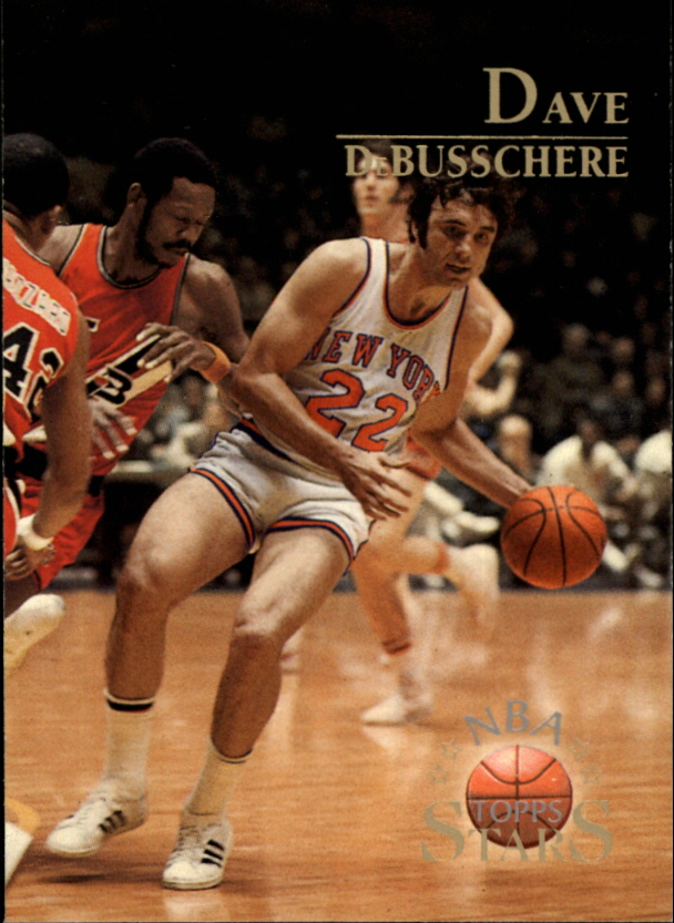 1996 Topps Stars #113 Dave DeBusschere