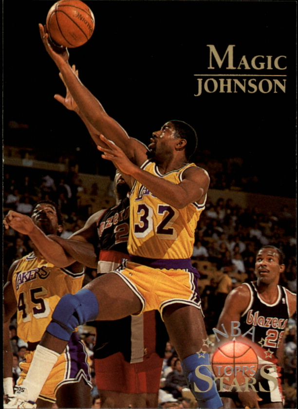 1996 Topps Stars #122 Magic Johnson