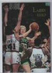 1996 Topps Stars Finest #8 Larry Bird