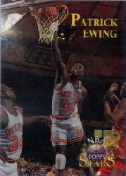 1996 Topps Stars Finest Refractors #16 Patrick Ewing
