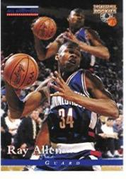 1996 Score Board Rookies #84 Ray Allen AA