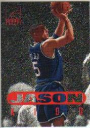 1996 Score Board Rookies #95 Jason Kidd BG