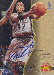 1996 Score Board Autographed BK Autographs #30 Jerome Williams