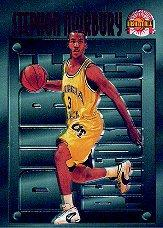 1996 Score Board Autographed BK Pure Performance #PP4 Stephon Marbury
